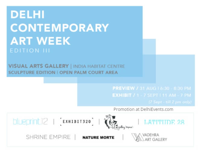 Delhi Contemporary Art Week India Habitat Centre Creative