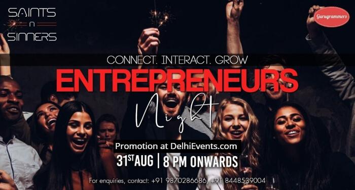 Entrepreneurs Night Saints Sinners Creative
