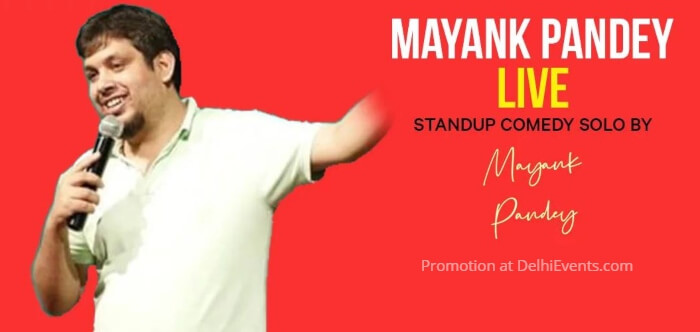 Stand-up Comedy Mayank Pandey Creative