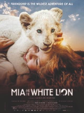 Mia White Lion Movie Poster