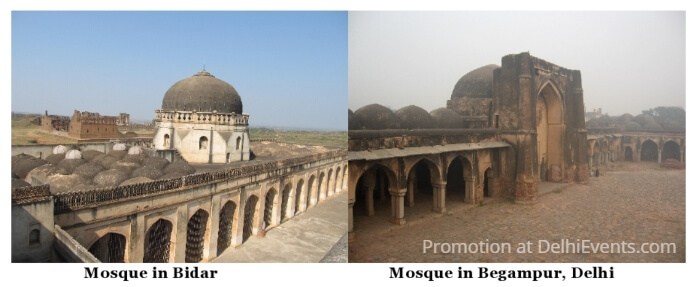 Mosques Bidar Begampur