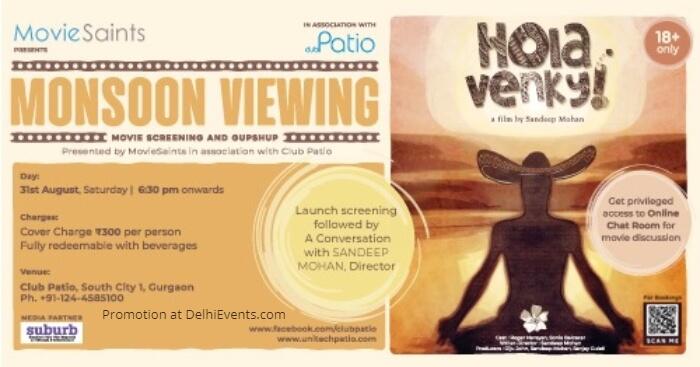 MovieSaints Hola Venky Club Patio Creative