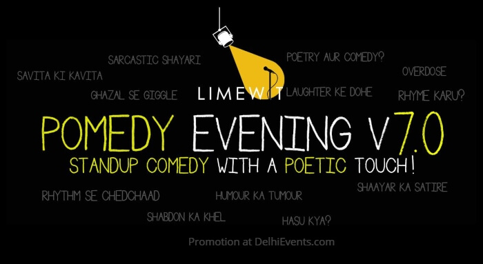 Pomedy Evening LIMEWIT Central Club Creative
