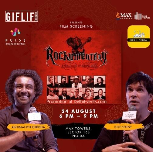 Rockumentary Evolution Indian Rock Award Winning Documentary Rock Music Max Towers Creative