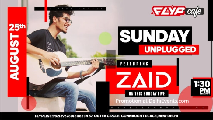 Sunday Unplugged Zaid Flyp Cafe Creative