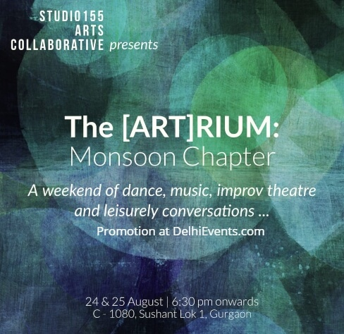 [ART]RIUM  Monsoon Chapter Music Theatre Dance Studio155 Arts Collaborative Creative