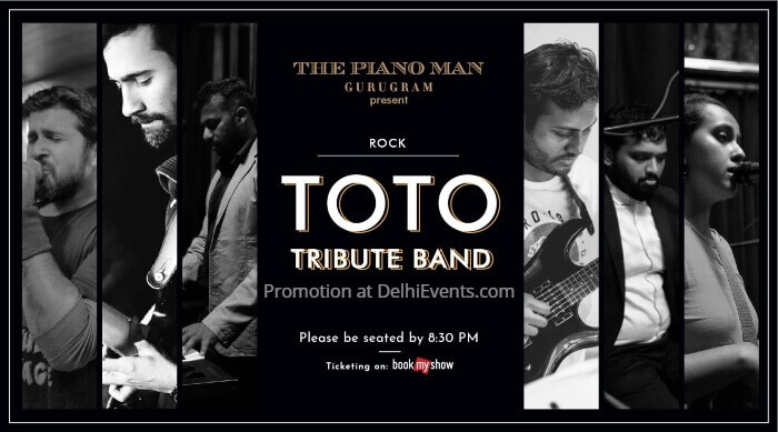 Toto Tribute Band Piano Man Creative