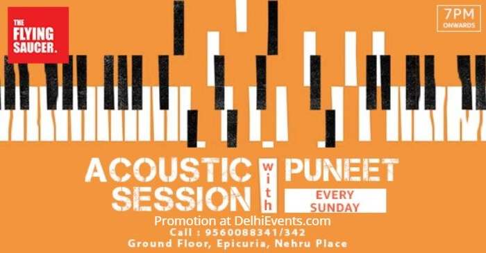 Acoustic Night Puneet Flying Saucer Cafe Creative