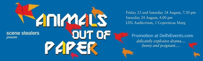 Animals Out Paper Comedy Play LTG Auditorium Creative