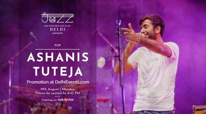 Ashanis Tuteja Piano Man Jazz Club Creative