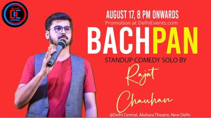 Bachpan Standup Rajat Chauhan Delhi Central Comedy Club Creative