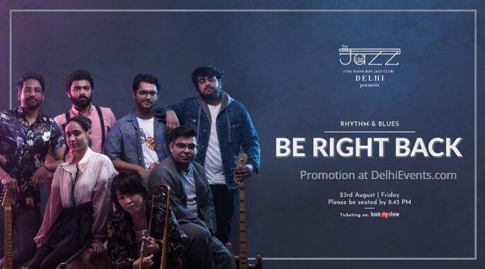Be Right Back Band Piano Man Jazz Club Creative