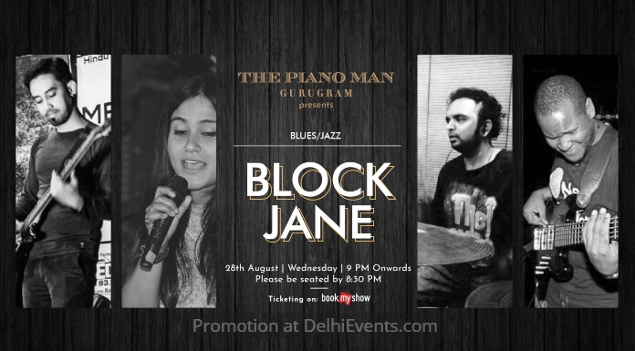 BlockJane band Piano Man Creative