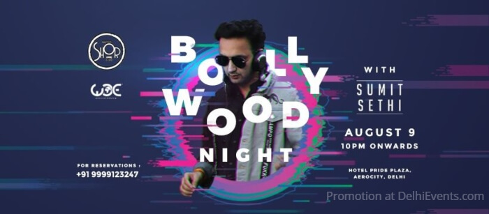 Bollywood Night Sumit Sethi Imperfecto Shor Creative