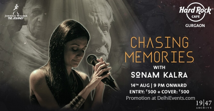 Chasing Memories Sonam Kalra Hard Rock Cafe Creative