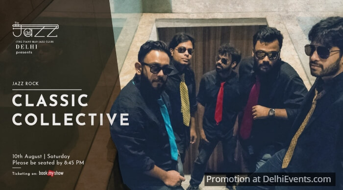 Classic Collective band Piano Man Jazz Club Creative