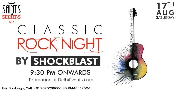 Classic Rock Night Shockblast Saints Sinners Creative