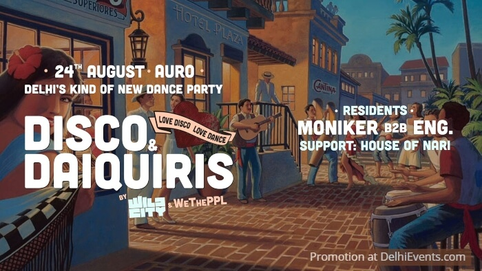 Disco Daiquiris Feat Moniker B2b Eng House Nari Auro Kitchen Bar Creative