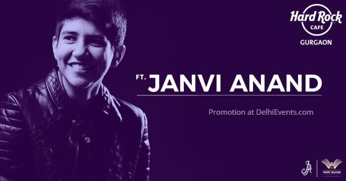 Sunday Unplugged Janvi Anand Hard Rock Cafe Creative