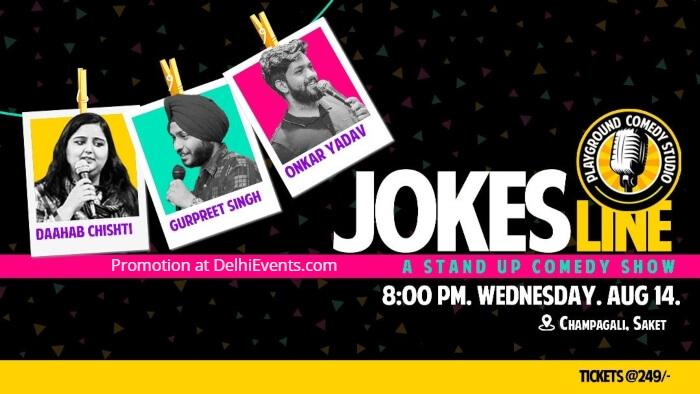 Jokes Line standup Daahab Chishti Onkar Yadav Gurpreet Singh Champa Gali Creative