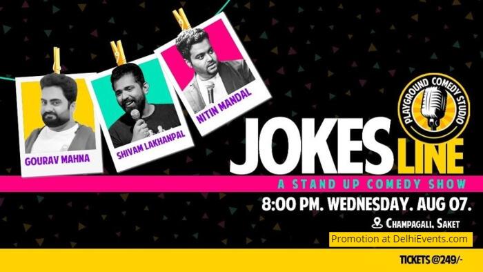 Jokes Line standup Nitin Shivam Gourav Playground Comedy Studio Creative