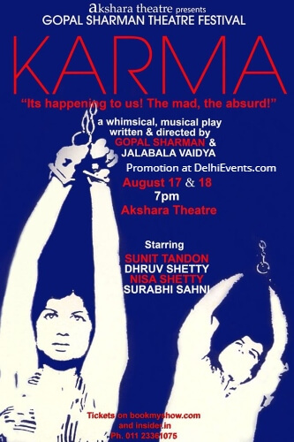 Akshara Theatre Karma Play Creative