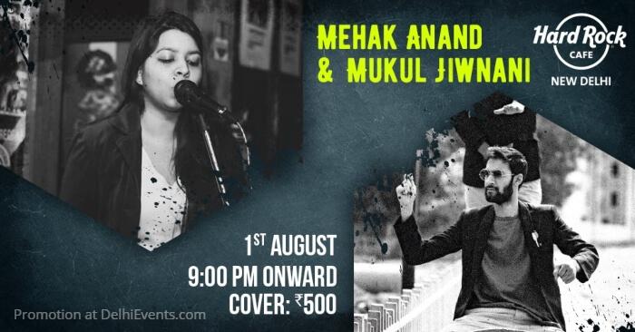 Mehak Anand Mukul Jiwnani Hard Rock Cafe Creative