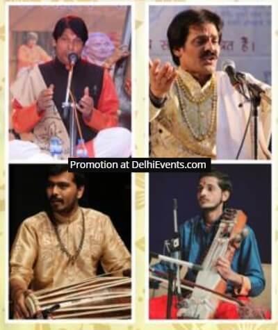 Musicians Naval Kishore Uday Kumar Mallick Sukhad Munde Lalit Sisodia