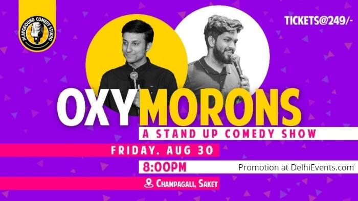Oxy-Morons Standup Aashish Solanki Onkar Yadav Playground Comedy Studio Creative
