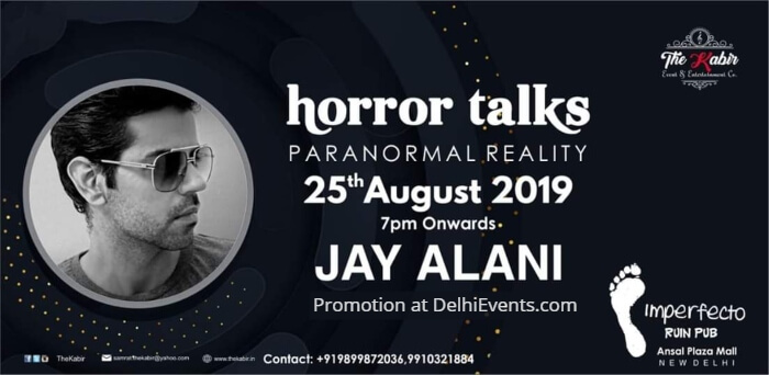 Horror Talks Paranormal Reality Jay Alani Imperfecto Ruin Pub Creative