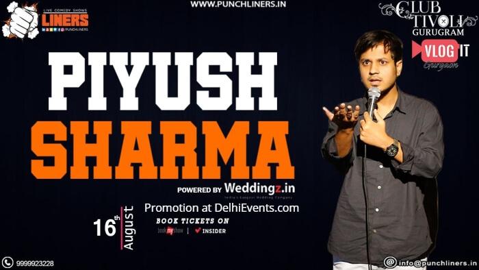 Punchliners standup Piyush Sharma Club Tivoli Creative