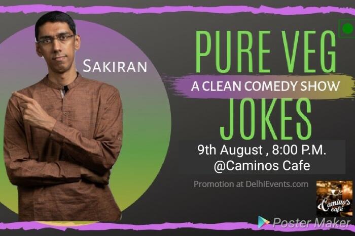 Pure Veg Jokes Standup Saikiran Camino Cafe Creative