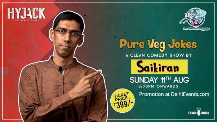 Pure Veg Jokes standup Saikiran Rayaprolu Hyjack Creative