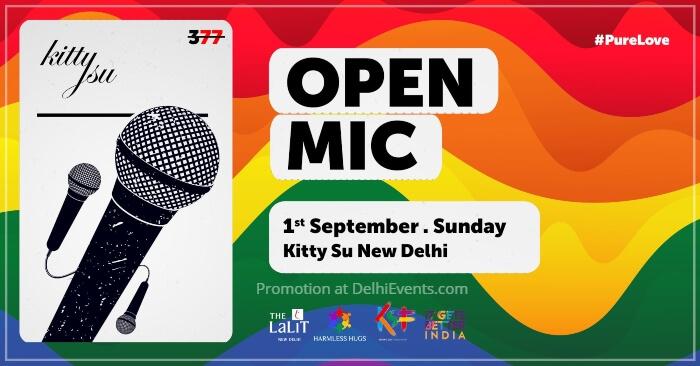 Queer Open Mic occasion Anniversary Sec 377 Kitty Su Creative