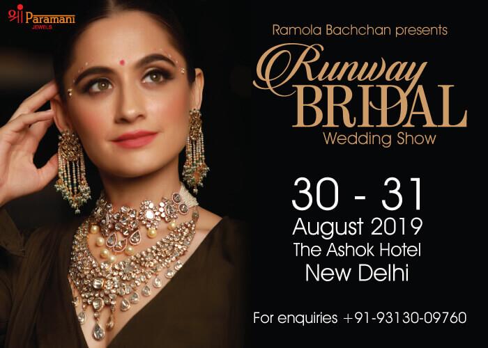 Ramola Bachchan Runway Bridal Wedding Hotel Ashok Creative
