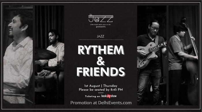 Rythem Friends band Piano Man Jazz Club Creative