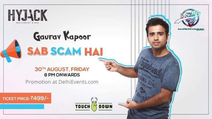 Sab Scam Hai standup Gaurav Kapoor Hyjack Creative
