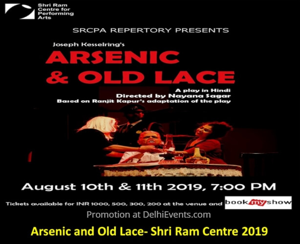 SRCPA Production Joseph Kesselring Arsenic Old Lace Play Shri Ram Centre Creative