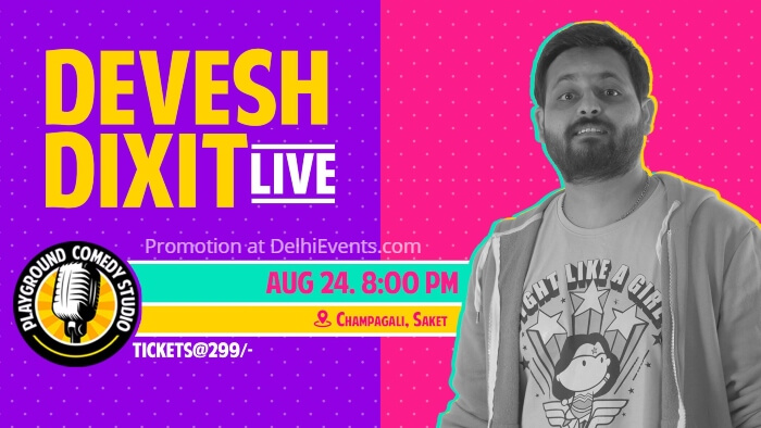Standup Devesh Dixit Playground Comedy Studio Creative