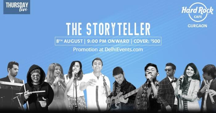 Storyteller Hard Rock Cafe Creative