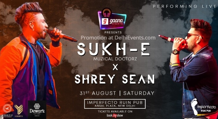 Sukh-E Muzical Doctorz Shrey Sean Imperfecto Ruin Pub Creative