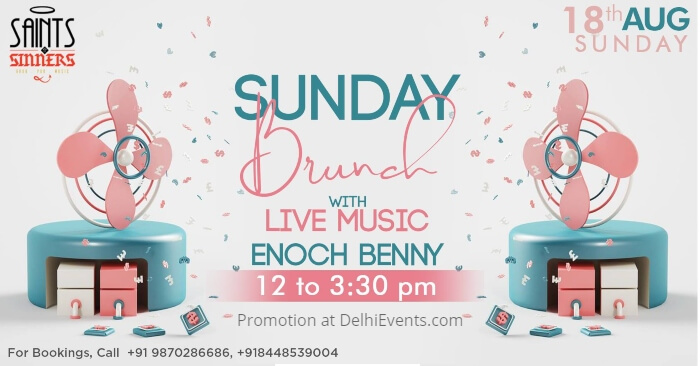 Sunday Brunch Enoch Benny Saints Sinners Creative