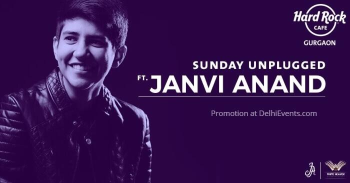 Sunday Unplugged Janvi Anand Hard Rock Cafe Creative
