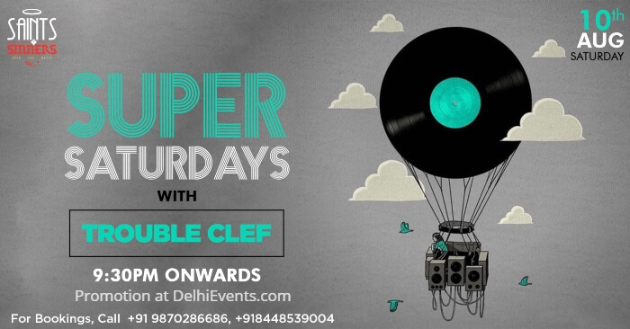 Super Saturdays Trouble Clef Saints Sinners Creative