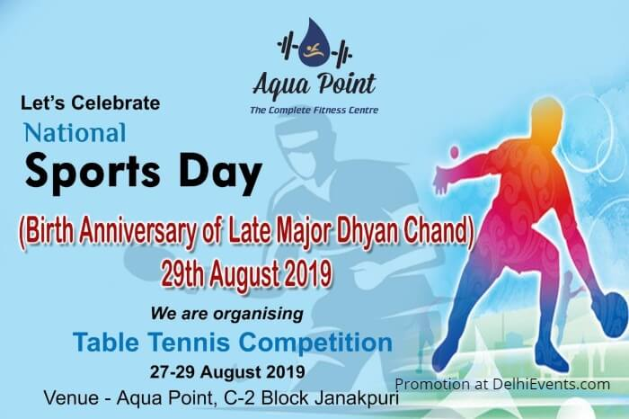 TABLE Tennis Competition Aqua Point Janakpuri Creative