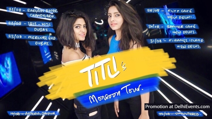 TITLI Monsoon Tour Creative