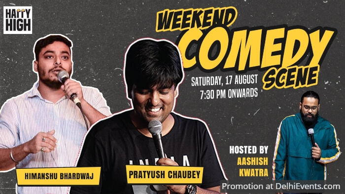 Weekend Comedy Scene Pratyush Chaubey Himanshu Bhardawaj Happy High Creative
