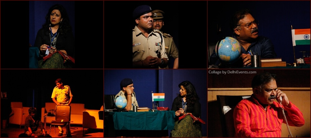 Upstage Productions Behroopiya Entertainers 36 Defence Colony Comedy Thriller Play Stills