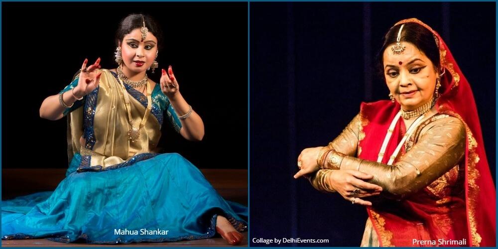 Dancers Mahua Shankar Prerna Shrimali