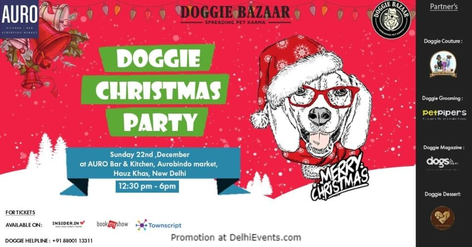 Doggie Bazaar Christmas Party Auro Kitchen Bar Hauz Khas Creative